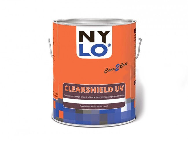 Nylo Clearshield UV (A+B) blanke polyurethaan coating