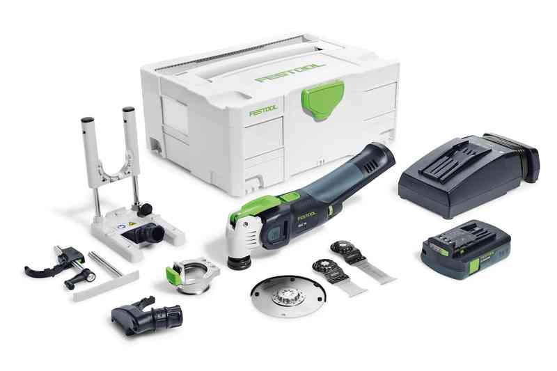 Festool Accu-oscillerende machine OSC 18 Li 3,1 E-Set VECTURO